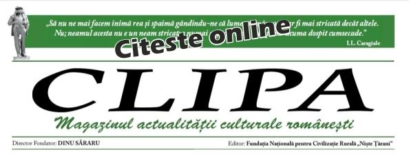 Revista Clipa – octombrie 2018 – nr 58