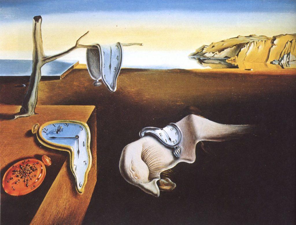 Persistența memoriei, Salvador Dali, 1931