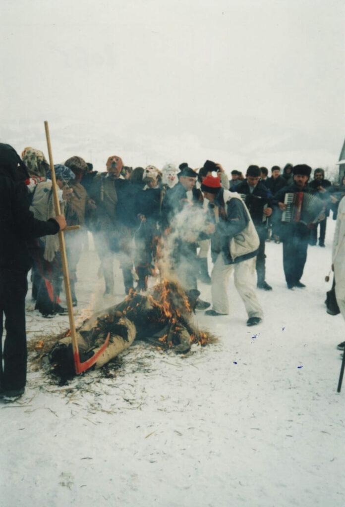 Arderea Fărșangului. Foto: Corina Mihăescu