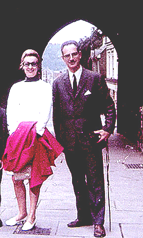 Eu cu Jana Peretz la Londra