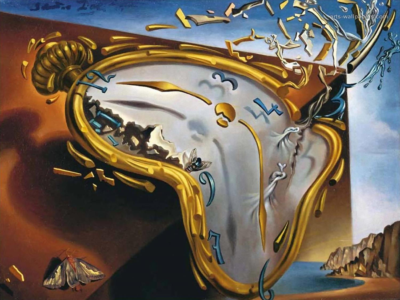 Salvador Dalí, Ceas topindu-se, 1954
