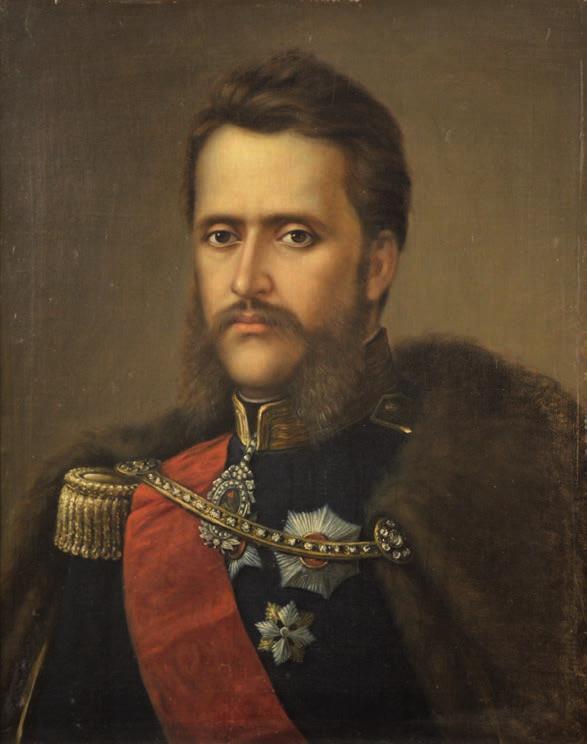 Mișu Popp, Portretul lui Alexandru Ioan Cuza, 1881
