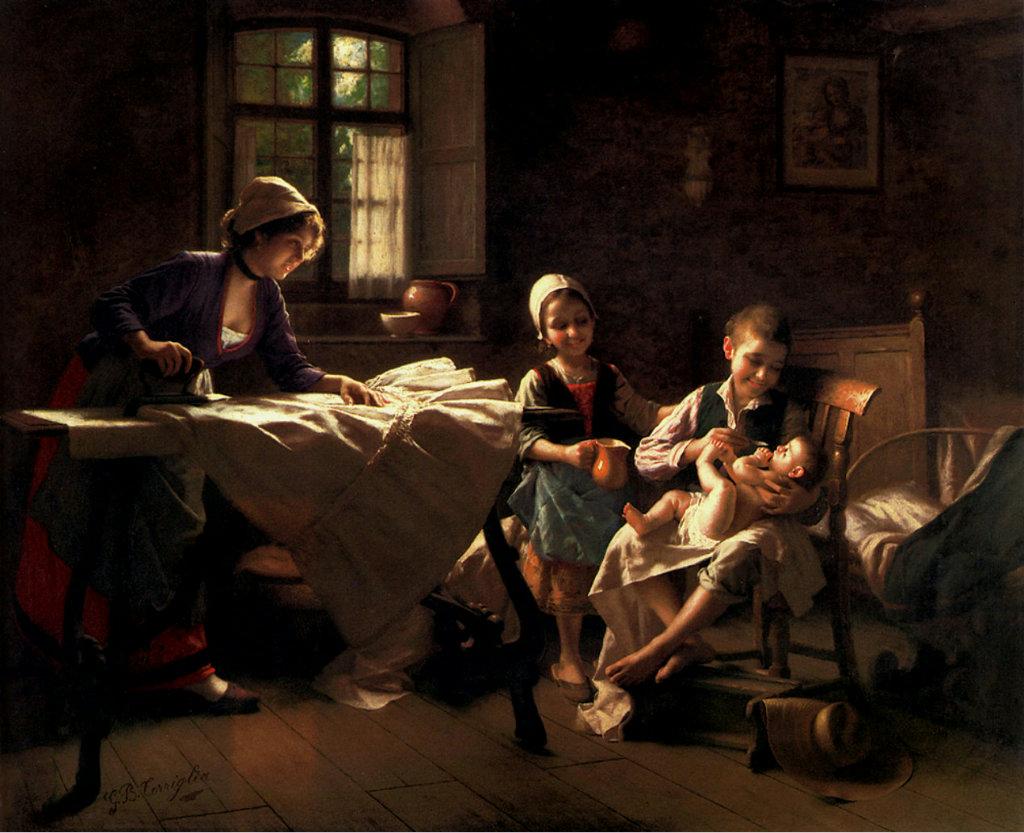 O familie fericită, Torriglia Giovanni Battista