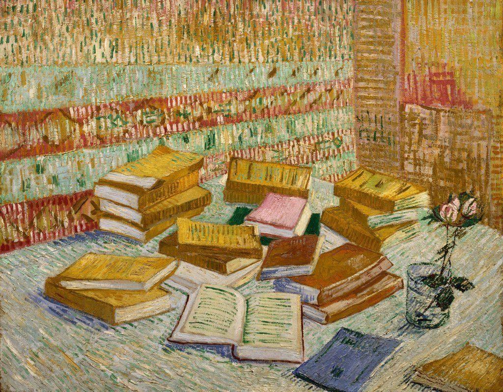 Cărțile galbene, Vincent van Gogh, 1887
