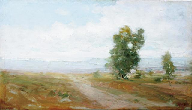 Nicolae Grigorescu, Peisaj de țară