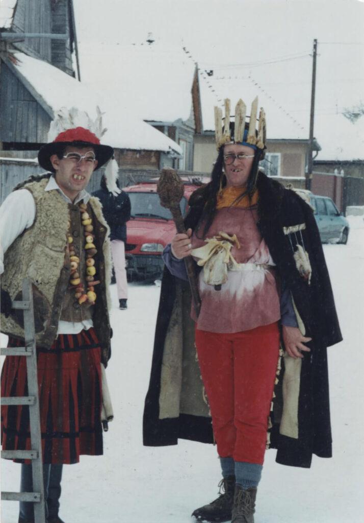Fărșangul, Regele Os și Prințul Sâmbure. Foto: Corina Mihăescu
