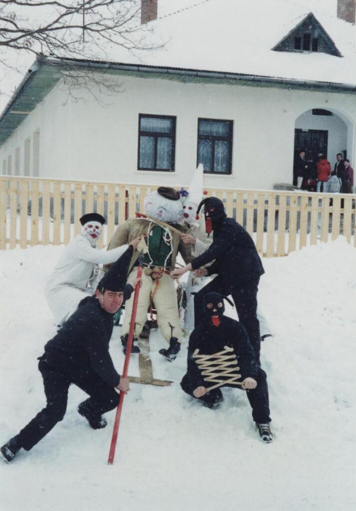 Înmormântarea Fărșangului. Foto: Corina Mihăescu