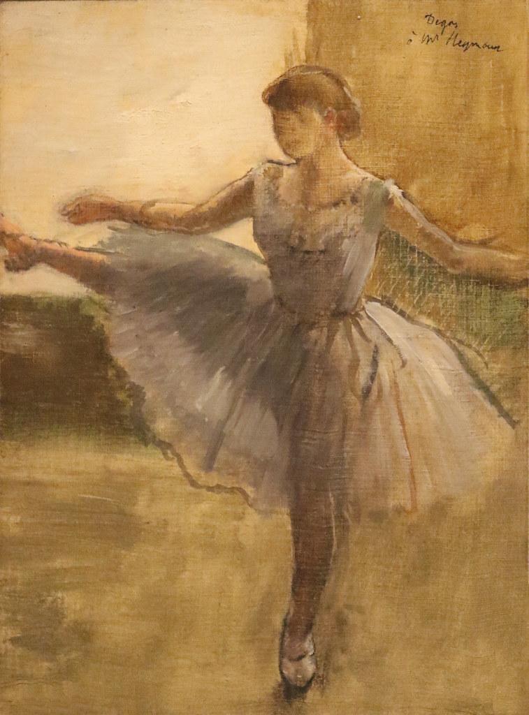 Edgar Degas, Balerina, cca 1876