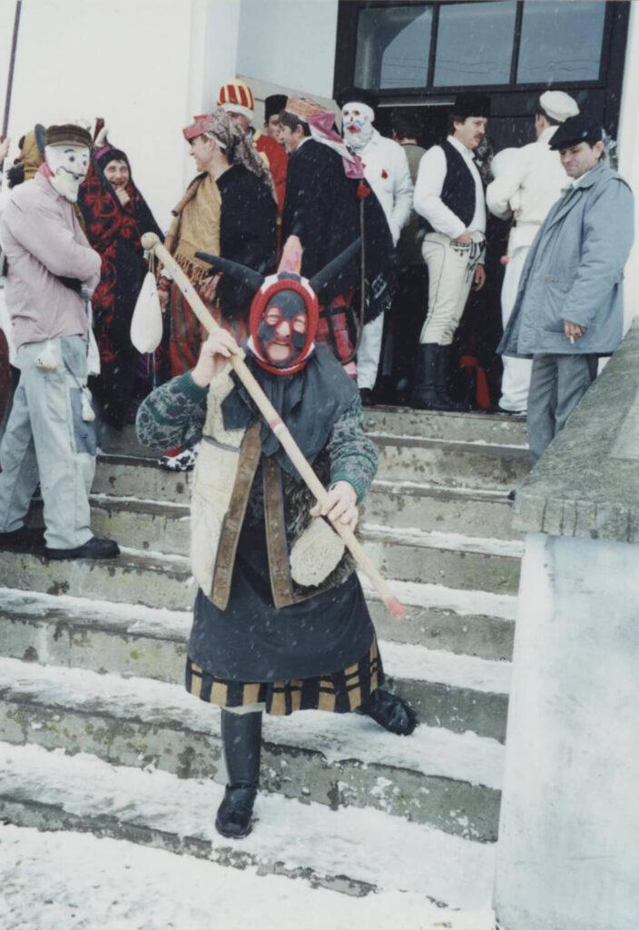 Obiceiul Fărșangului, Cenușarul. Foto: Corina Mihăescu