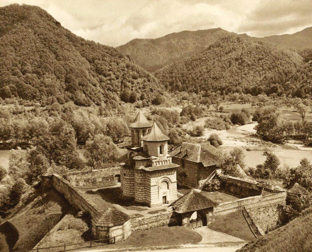 Mănăstirea Cornetu, anul 1938. Sursa foto: Kurt Hielscher