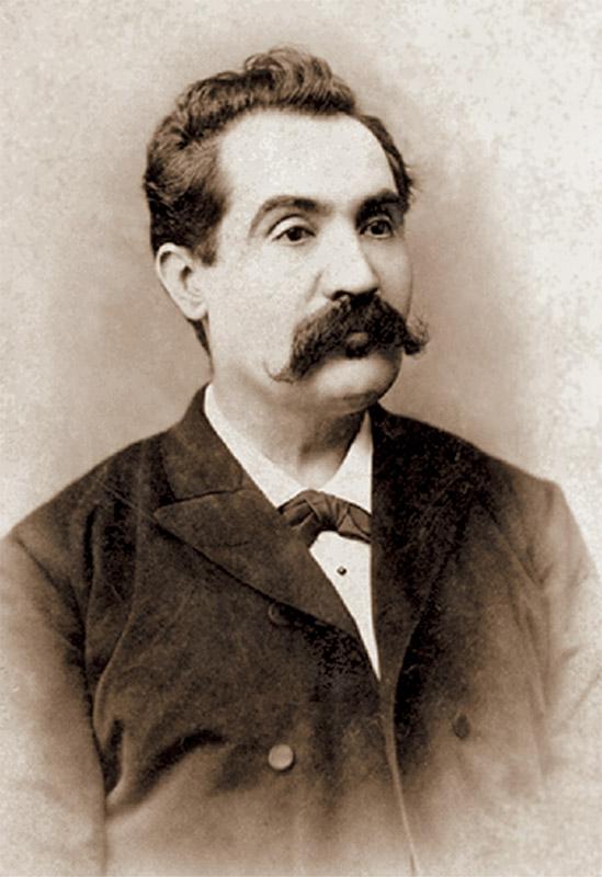 Mihai Eminescu (1850-1889), fotografie de Jean Bielig, 1887