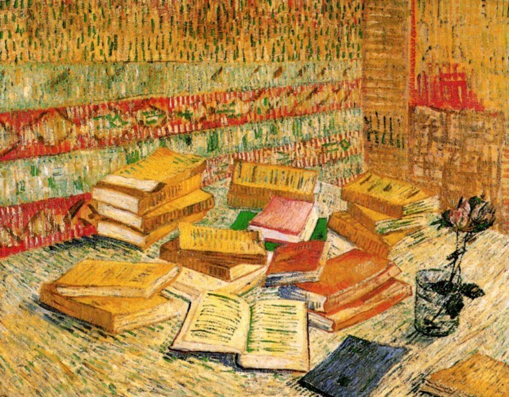 Vincent Van Gogh, Cărțile galbene, 1887